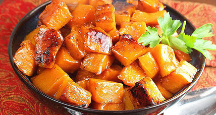 Thanksgiving side dish: caramelized butternut squash