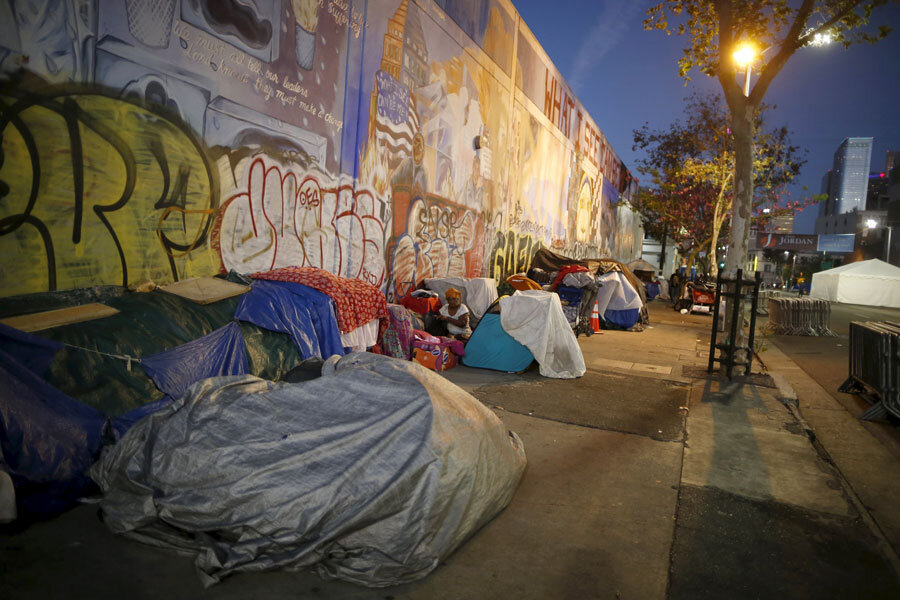 Los angeles 39 homeless can now sleep in cars but will that for Los angeles homeless shelter