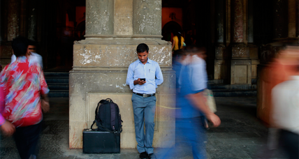 Why India is about to overtake US in online presence