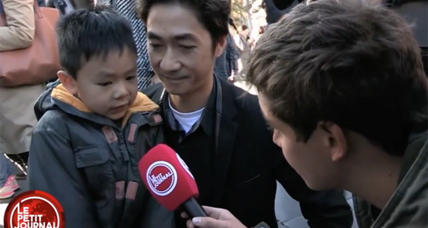 Viral video of a father explaining the Paris attacks to his preschool son