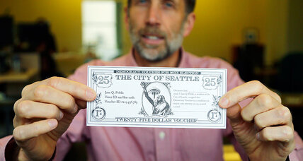 How Seattle is trying to combat big money in politics