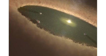 Scientists directly observe planets being born