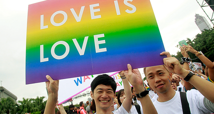 From Tokyo to Taipei, a growing acceptance for LGBT people