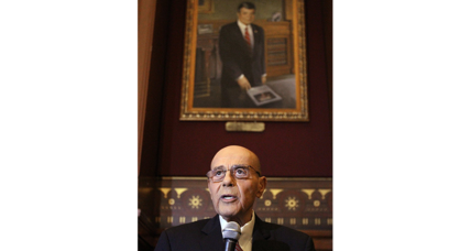 Twice-ousted former Mayor Buddy Cianci honored in Rhode Island capital