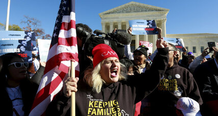 One year after immigration promise, Obama seeks Supreme Court backing