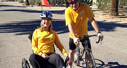 Why Gabby Giffords is riding 40 miles around Tucson
