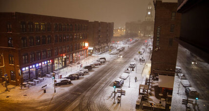First winter storm gives Midwest a white coat
