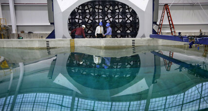 What will the University of Maine do with an indoor ocean?