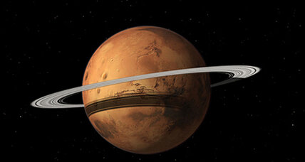 Could Mars someday get its own set of rings?