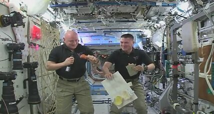 Thanksgiving in space: How space station astronauts get grateful