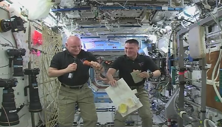 Thanksgiving in space: How space station astronauts get ...