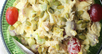 Thanksgiving leftovers: Curried turkey salad