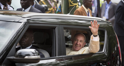 Pope honors Ugandan Christian martyrs as example of faith
