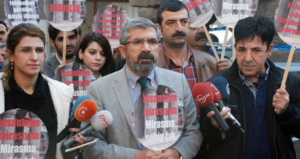 Prominent Kurdish lawyer killed during news conference in Turkey