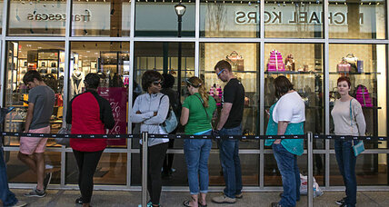 Why did Black Friday sales suffer this year?