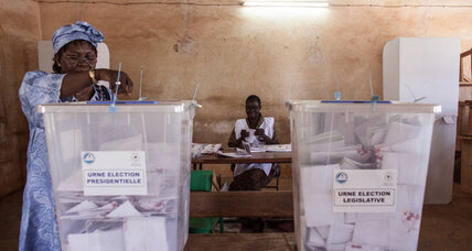 Voters go to polls in Burkina Faso in test of new democracy