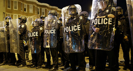 Freddie Gray trial of first police officer: Baltimore watches intensely (+video)