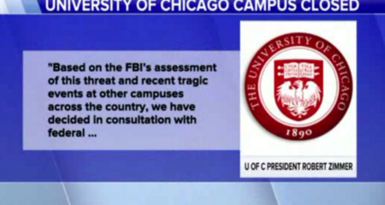 Campus alert: Online threat prompts University of Chicago to cancel classes