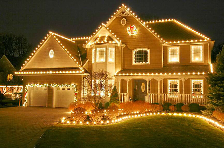 why hang your own holiday lights if someone else will climb the ladder. Black Bedroom Furniture Sets. Home Design Ideas