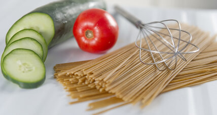 The secret to sustainable diets? Pasta.