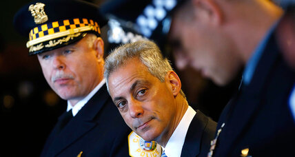 Can Chicago police reform? It's up to Mayor Emanuel now. (+video)