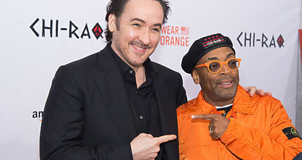 Why Spike Lee wore orange to 'Chi-raq' movie premiere
