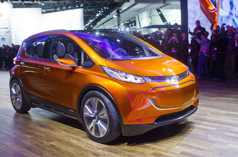 2017 Chevrolet Bolt Ev Production Car Spied Before 2016 Ces Debut