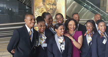South African businesswoman becomes first black woman to launch an airline