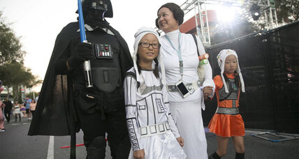'Star Wars: The Force Awakens': Generations of fans unite for the new movie