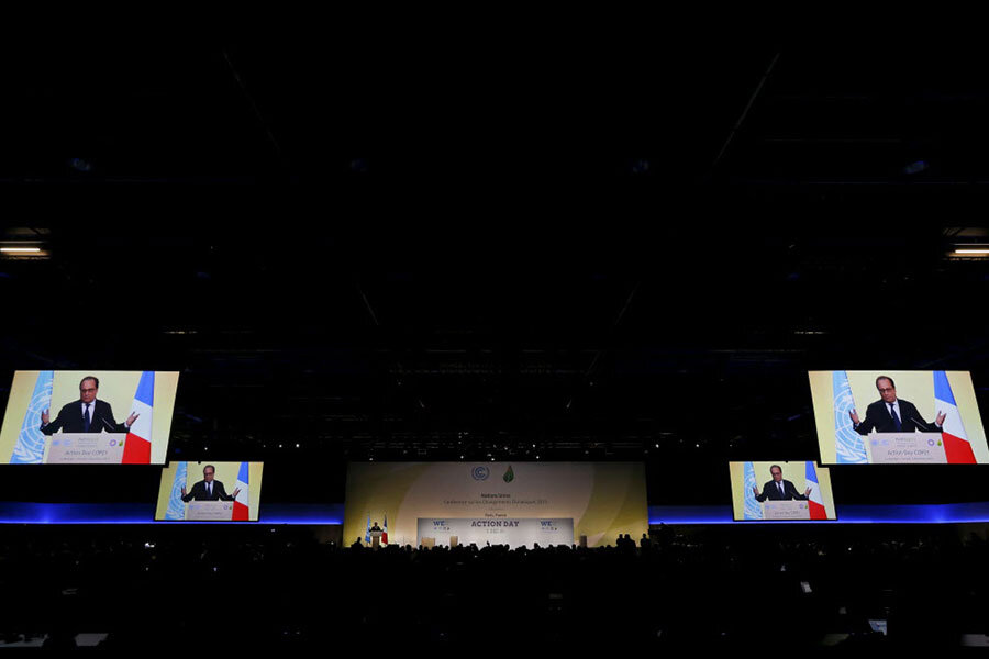 Paris conference has draft agreement, but more work to be done
