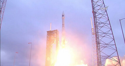 After a yearlong hiatus, a brilliant liftoff for Cygnus cargo spaceship