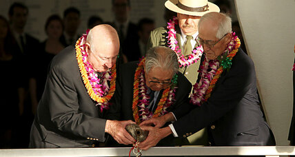 Remembering Pearl Harbor, old enemies pour one out together