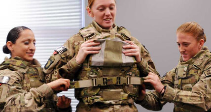 How the military is designing new tactical gear for female soldiers