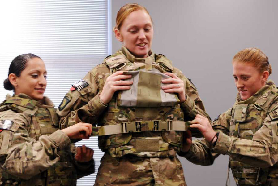 How the military is designing new tactical gear for female