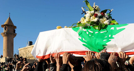 To avenge or not? At funeral in Bekaa Valley, it's not really a question.