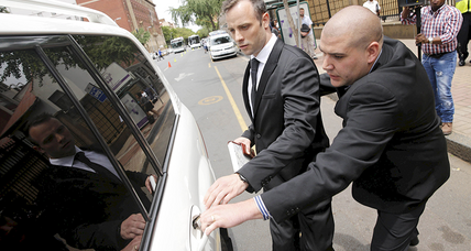 Oscar Pistorius released on bail following murder conviction (+video)