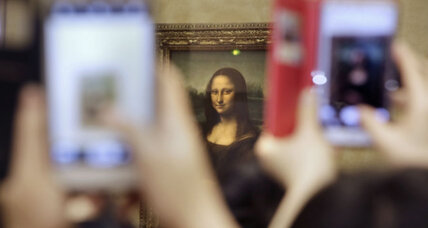Scientist says he found other paintings hidden beneath the 'Mona Lisa'