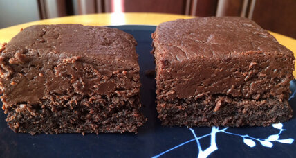 Nutella fudge brownie
