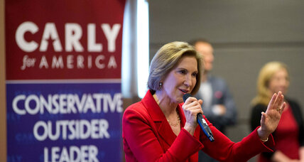Why are some voters backing both Fiorina and Clinton?