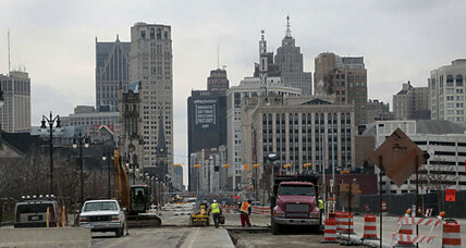 A year out from bankruptcy, Detroit sees signs of gradual improvement