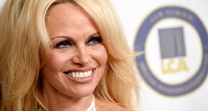 What is Pamela Anderson doing lobbying the Kremlin?