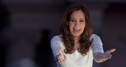 Argentina's Fernandez blasts incoming leaders in final presidential speech