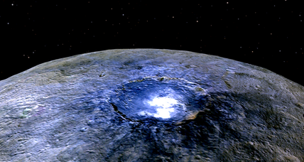 What makes the dwarf planet Ceres glow? Scientists unravel the mystery.