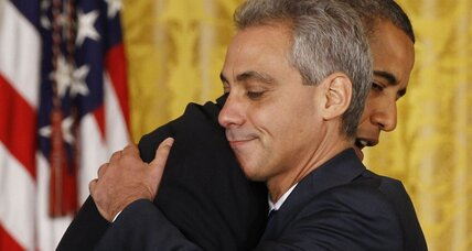 Why is Obama not speaking up about Rahm Emanuel's crisis?