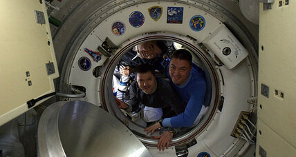 Three astronauts return to Earth from International Space Station
