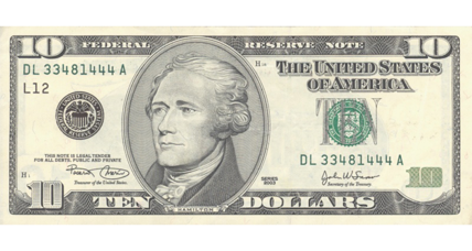 Alexander Hamilton safe as Treasury delays choosing woman for $10 bill