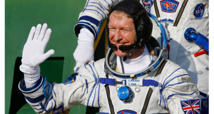 Ground Control to Major Tim: Britain's first proper astronaut blasts off