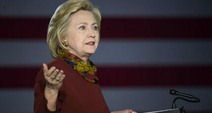 Clinton unveils counterterrorism strategy, takes aim at GOP