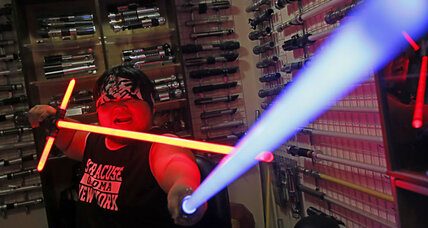 On a quest for a realistic lightsaber? Taiwan 'master' cashes in on Star Wars