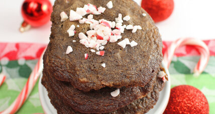 Peppermint-chocolate chocolate chip cookies